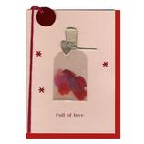 リーフ ハートカード 25-121│カード・ポストカード バレンタインカード