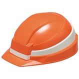 IZANO 防災用 たためるヘルメット オレンジ/ホワイトライン