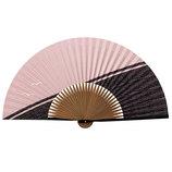 山二 紳士紙扇子 92 カモメ ピンク