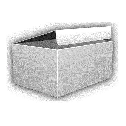 神田 デザイン段ボール 無地SS 1枚入│梱包資材 段ボール箱