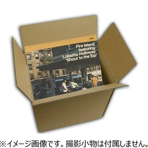 神田 LP(12inch) 80枚用 32×32×32cm 1枚入│梱包資材 段ボール箱