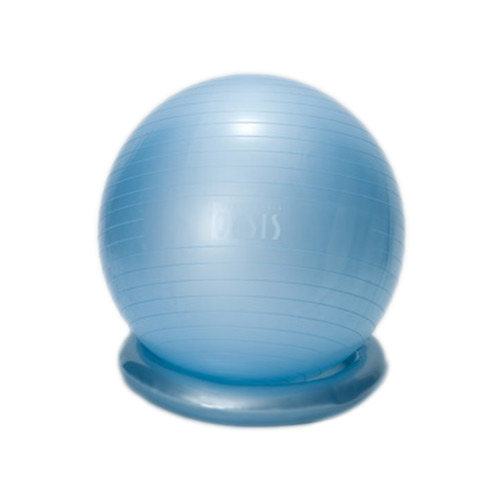 東急スポーツオアシス バランスボール55cm アイスブルーFB-400【取寄商品】お届けまで約1週間~10日間