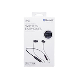 たのしいかいしゃ iine(いい音) ネックバンド付き Bluetoothワイヤレスイヤホン TA-BT2BK ブラック