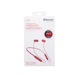 たのしいかいしゃ iine(いい音) ネックバンド付き Bluetoothワイヤレスイヤホン TA-BT2RD レッド