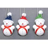 【クリスマス】 亜細亜貿易 スノーマンオーナメント CD22772