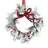 【クリスマス】 レッドベリーヒイラギリーフリース JB33637