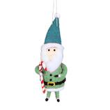 【クリスマス】 ウールサンタオーナメント IA35511/#1