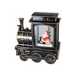 【クリスマス】 スノーイングライトトレインスタンド ST36874