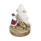 【クリスマス】 ファブリックツリーサンタスタンド HB36681