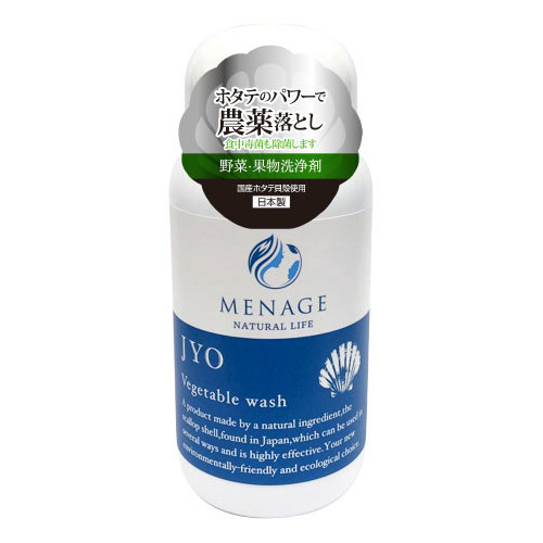 メナージュ ナチュラルライフ JYO(浄) 野菜果物洗浄剤 80g