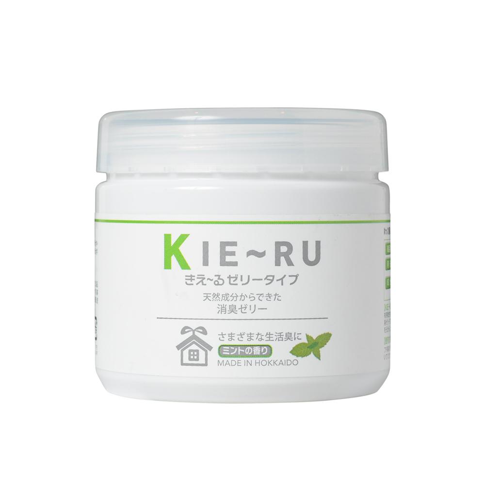 きえ~る ゼリータイプ ミントの香り KJ-U140M 140g│消臭剤・乾燥剤 消臭剤・脱臭剤