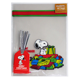 【クリスマス】 S&C クリスマスラッピング袋 URB20S スヌーピープレゼント 10枚入り