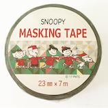 【クリスマス】 S&Cコーポレーション クリスマス マスキングテープ  SMT19 スヌーピーホーリーナイト