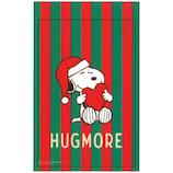 【クリスマス】 S&C Xmasジッパーバッグ URB114 スヌーピー HUGMORE 4枚入り