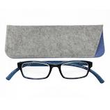 ベイライン ネックリーダーズ ラージ PC2209B ブルー×ブラック 3.0│ヘルスケア 老眼鏡・シニアグラス