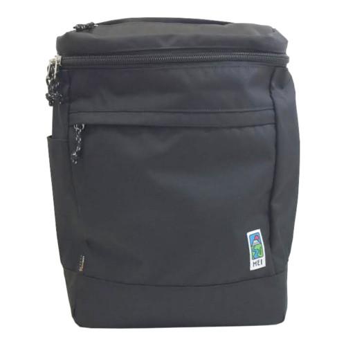 カリフォルニア生まれのブランドです。 MEI スクエアリュック MDN506 ブラック