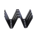 シーモス モバイルラック ウエーブ R−01 ブラック