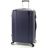 BERMAS PRESTIGE2 4輪ファスナー68 ネイビー 83L│スーツケース・旅行かばん スーツケース