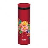 サーモス(THERMOS) 真空断熱ケータイマグ 0.5L JNY-502 ボタン│水筒・魔法瓶 水筒