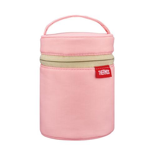 サーモス(THERMOS) スープジャー ポーチ RES−001 ライトピンク│お弁当箱 お弁当袋・ランチベルト
