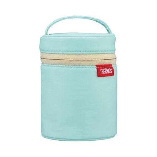 サーモス(THERMOS) スープジャー ポーチ RES−001 ライトブルー│お弁当箱 お弁当袋・ランチベルト