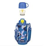 サーモス(THERMOS) 真空断熱2ウェイボトル FJJ-800WF ブルーカモフラージュ│水筒・魔法瓶 水筒