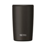 サーモス(THERMOS) 真空断熱タンブラー 400mL JDP-400 ブラック│食器・カトラリー グラス・タンブラー