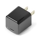 PGA ミニ電源アダプタ USB-Cポート 1.5A PG-CPAC15A01BK ブラック│携帯・スマホアクセサリー モバイルバッテリー・携帯充電器