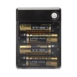 PGA iCharger USBポート搭載 乾電池式充電器 出力1A PG-JUK1U1BK ブラック