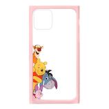 【iPhone11Pro】 PGA ガラスタフケース PG-DGT19A51POO プーさん