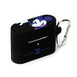 PGA AirPodsPro 充電ケース用シリコンカバー PG-DAPPC01MKY ミッキーマウス/ブラック│携帯・スマホアクセサリー