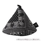 &NE 三角鍋つかみ NHK−048 PEBK/ペイズリーブラック
