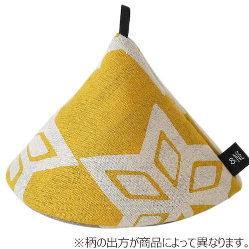 &NE 大きな三角鍋つかみ NHK-069 HNYE(ハナイエロー)