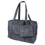 STARTTS 折畳バッグ 拡張キャリーオン MF01 ブラック│スーツケース・旅行かばん 折りたたみバッグ