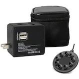 ロジック 充電器付トラベルアダプタ LG−OP002N