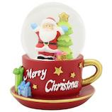 【クリスマス】 クリスマスファクトリー 45mm カップサンタ 20128