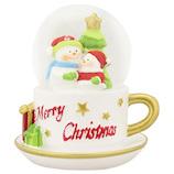 【クリスマス】 クリスマスファクトリー 45mm カップスノーマン 20129