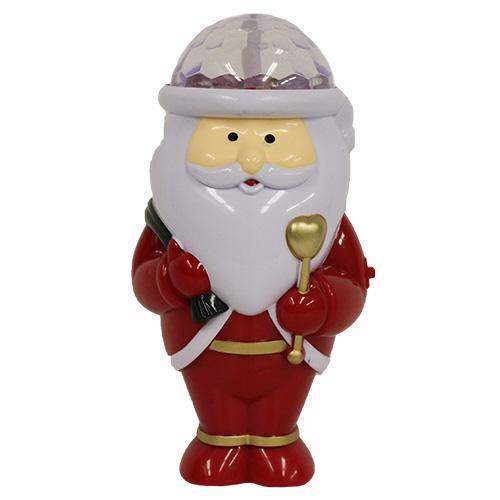 【クリスマス】 クリスマスファクトリー サンタフラッシング ミラーボール 20250