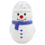 【クリスマス】 クリスマスファクトリー スノーマンフラッシング ミラーボール 20251