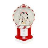 【クリスマス】 クリスマスファクトリー バブルLEDキャンディーマシン スノーマンドーム 21000