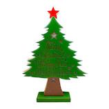 【クリスマス】 クリスマスファクトリー LED メッセージツリー L 21087 グリーン