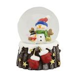 【クリスマス】 クリスマスファクトリー ウォータードーム 45mm 手袋スノーマン 21131
