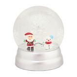 【クリスマス】 クリスマスファクトリー ガラスドーム LED SA&SN 21310 シルバー