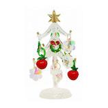 【クリスマス】 クリスマスファクトリー ガラスツリー 13cm アップル&オーロラ 21330