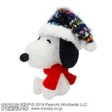 【クリスマス】 クリスマスファクトリー スヌーピー EVA ニット帽 S 21470 ネイビー