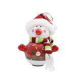 【クリスマス】 クリスマスファクトリー スノーマン LEDライト 22685