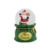 【クリスマス】 クリスマスファクトリー ウォータードーム 45mm サンタ 22778
