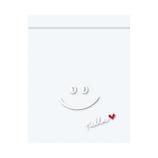 【バレンタイン】 インディゴ VP018 ジッパーバッグS ハロースマイル 5枚入 |バレンタイン プレゼント ギフト チョコ 手作り お菓子
