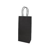 インディゴ レザリーバッグ SL PC042 ブラック│ラッピング用品 手提げ袋