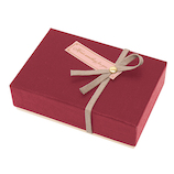 【バレンタイン】 インディゴ VB065 トリュフボックス ディープレッド  バレンタイン プレゼント ギフト チョコ 手作り お菓子